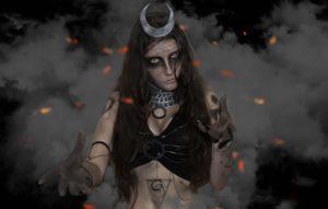 Косплей Чародейка Чаровница (Cosplay Enchantress)