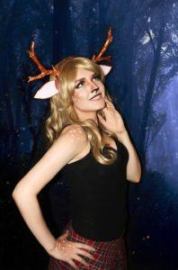 Косплей девушка милый олень (Reindeer girl)
