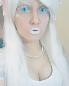 Образ белый цвет (White girl)