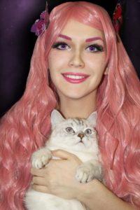 Образ розовая девушка (Cosplay pink girl)