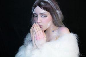 Косплей Снежная девушка ( Cosplay Snow girl)
