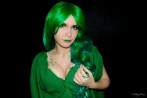 Зеленая девушка ( green hair girl ) KittyKlaw
