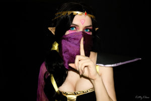 Косплей Ланая Cosplay Templar Assassin (Lanaya) dota2