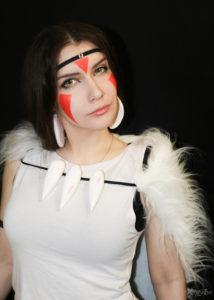 Косплей Принцесса Мононоке princess mononoke cosplay