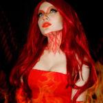 Косплей Феникс ( phoenix girl cosplay )