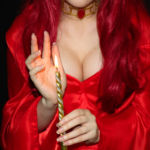 Косплей Мелисандра ( Cosplay The Red Woman) game of thrones