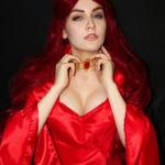 Косплей Мелисандра ( Cosplay The Red Woman) game of thrones